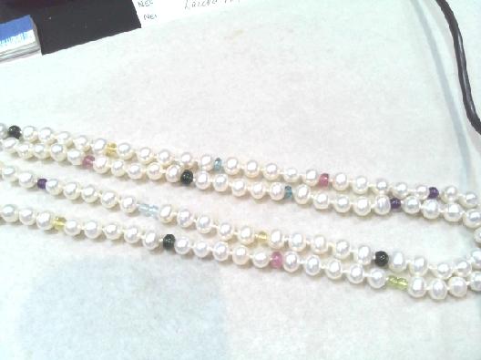Gallery Gemma Cultured Pearls Collection  Artist:  Anne-Marie Warbu...