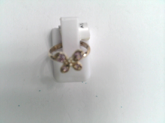 ring butterfly w/stone OTH