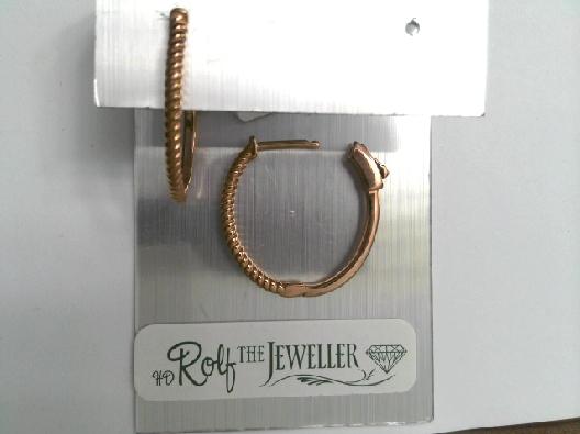 Ster earring; rhodium plating; OTH