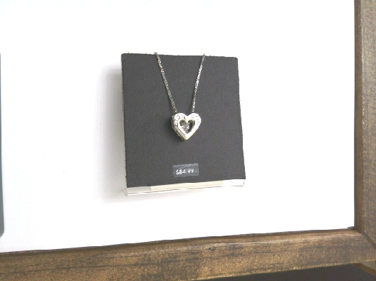 Quiver heart cz top OTH
