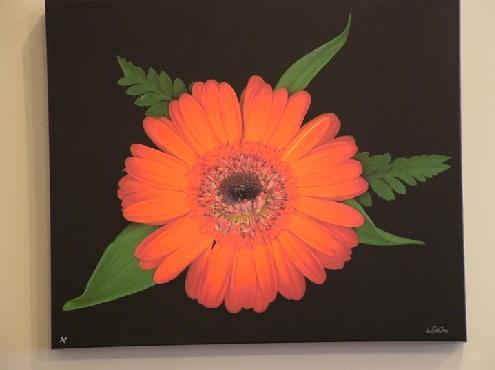 Orange gerber (sm)