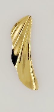 18K Yellow Gold Elsa Peretti High Tide Pendant Circa 2000 Comes with Pouch