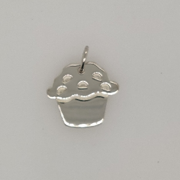 Sterling Silver Tiffany & Co.   Love   Muffin Charm  Comes with Box and Pouch
