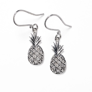 Southern Gates Waterfront Pineapple Earrings. Lowcountry Series. E577