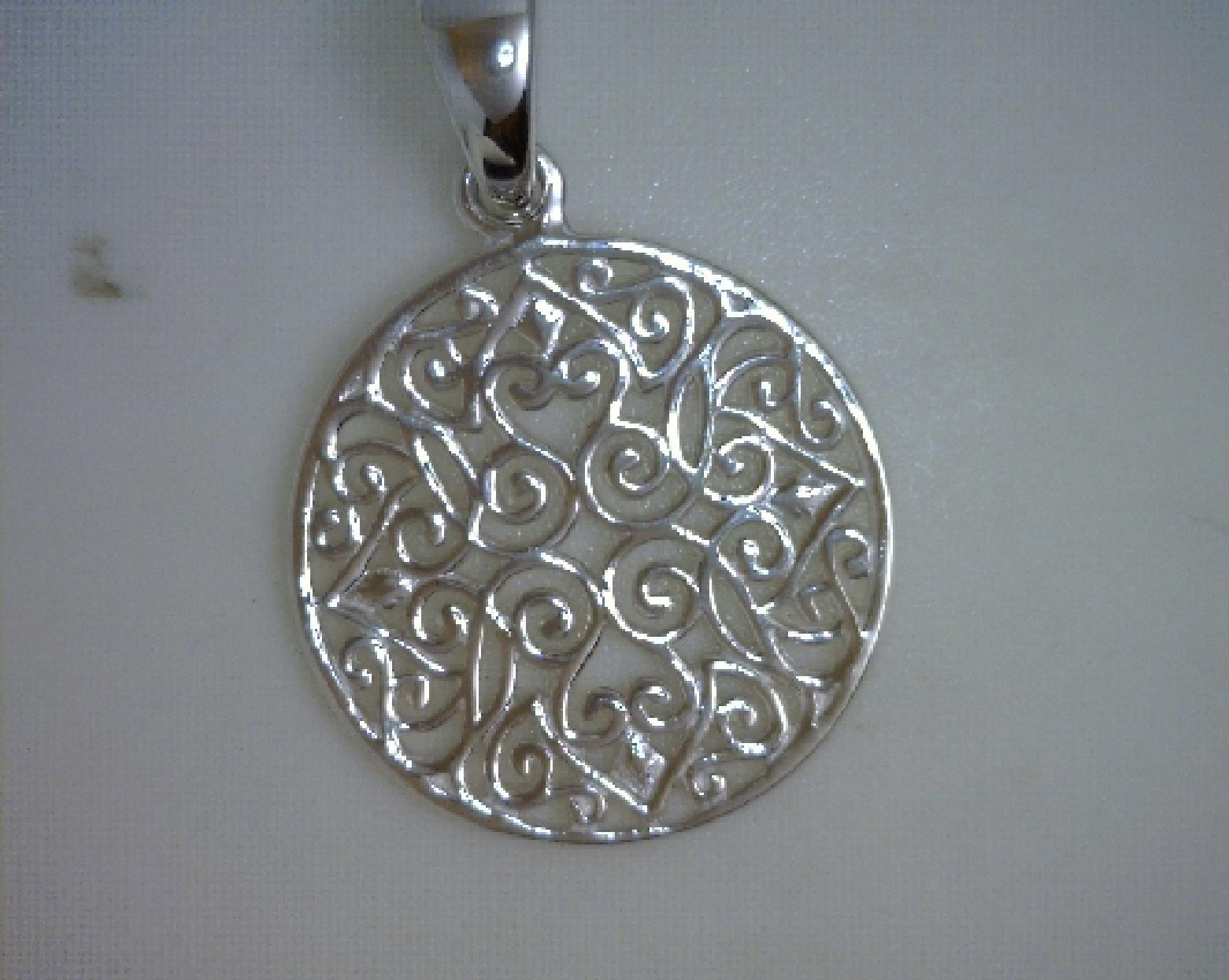 Southern Gates pendant; filigree small 3/4  . p160.