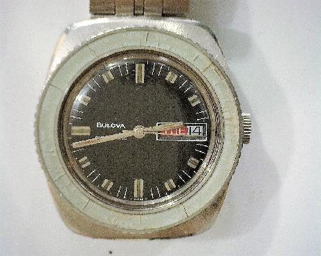 1969 Bulova Sky Star Automatic world time bezel serviced 2018