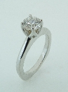 18K white gold Hearts On Fire diamond engagement ring 0.785ct G; VS1 HOF129743 AGS104066913050