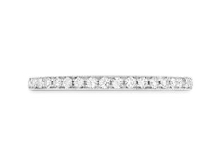 18K white gold   Deco Chic Band   By Hearts On Fire set with:  - 22*=0.22cttw SI-VS I/J