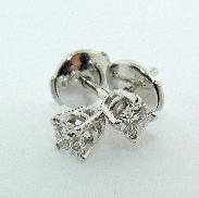 14 KW 0.314 cttw G/H; VS2 Hearts On Fire diamond stud earrings
