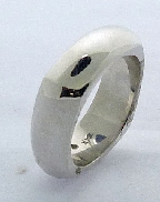 Gold Ring 14K White Gold
