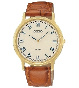 Men s Seiko watch SUP876 with:  - Solar power  - Water resist 30m  - Genuine leather strap