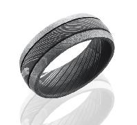 Damascus Steel D8D2.5 acid/bead size: 10