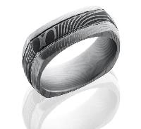 Damascus Steel D8DSQ2.5FLATTWIST acid/bead size: 10