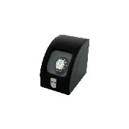 Tritan Black Leather Single Watch Winder with power adaptor EILUX BLK LTHR WATCH WINDER