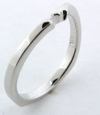 Surge  Matching Band by Mark Schneider - Sterling silver band